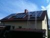 FVE 5 kWp Rapenava - realizace 2010